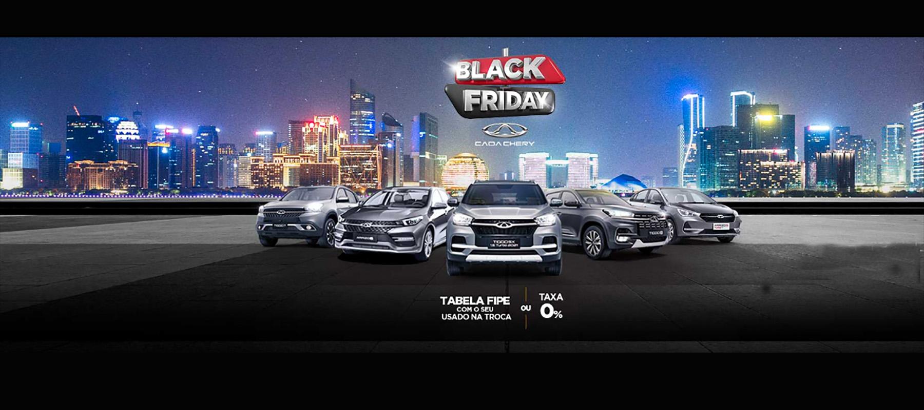 Black Friday Carros Sedan e SUV Caoa Chery